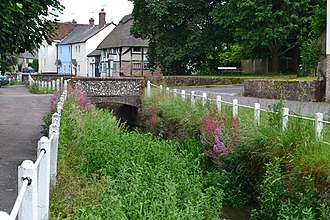 East Meon - River Meon and High Street