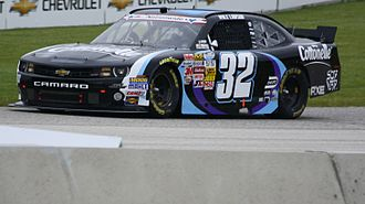 Kyle Larson - Larson's car for his 2013 Nationwide Rookie of the Year season