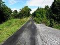 Road at Curraghabweehan townland, Corlough parish, County Cavan, Ireland. Heading eastwards.jpg