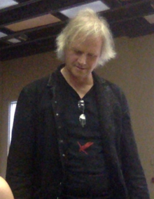 Kinkel while speaking at Villa Maria College on May 2, 2019