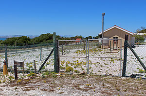 Robert Sobukwe - House on Robben Island where Sobukwe was kept in solitary confinement