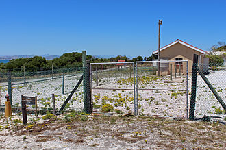Robert Sobukwe - House on Robben Island where Sobukwe was kept in solitary confinement