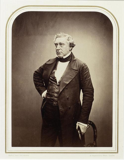 Robert stephenson by maull %26 polybank, 1856