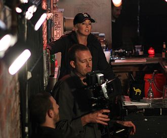 Robin Bain - Behind the scenes on the set of the film, Nowhereland, featuring writer and director, Robin Bain.