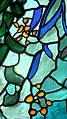 """Robinson College Chapel choir Piper stained glass window, """"Light of the World"""" (4767547534).jpg"""