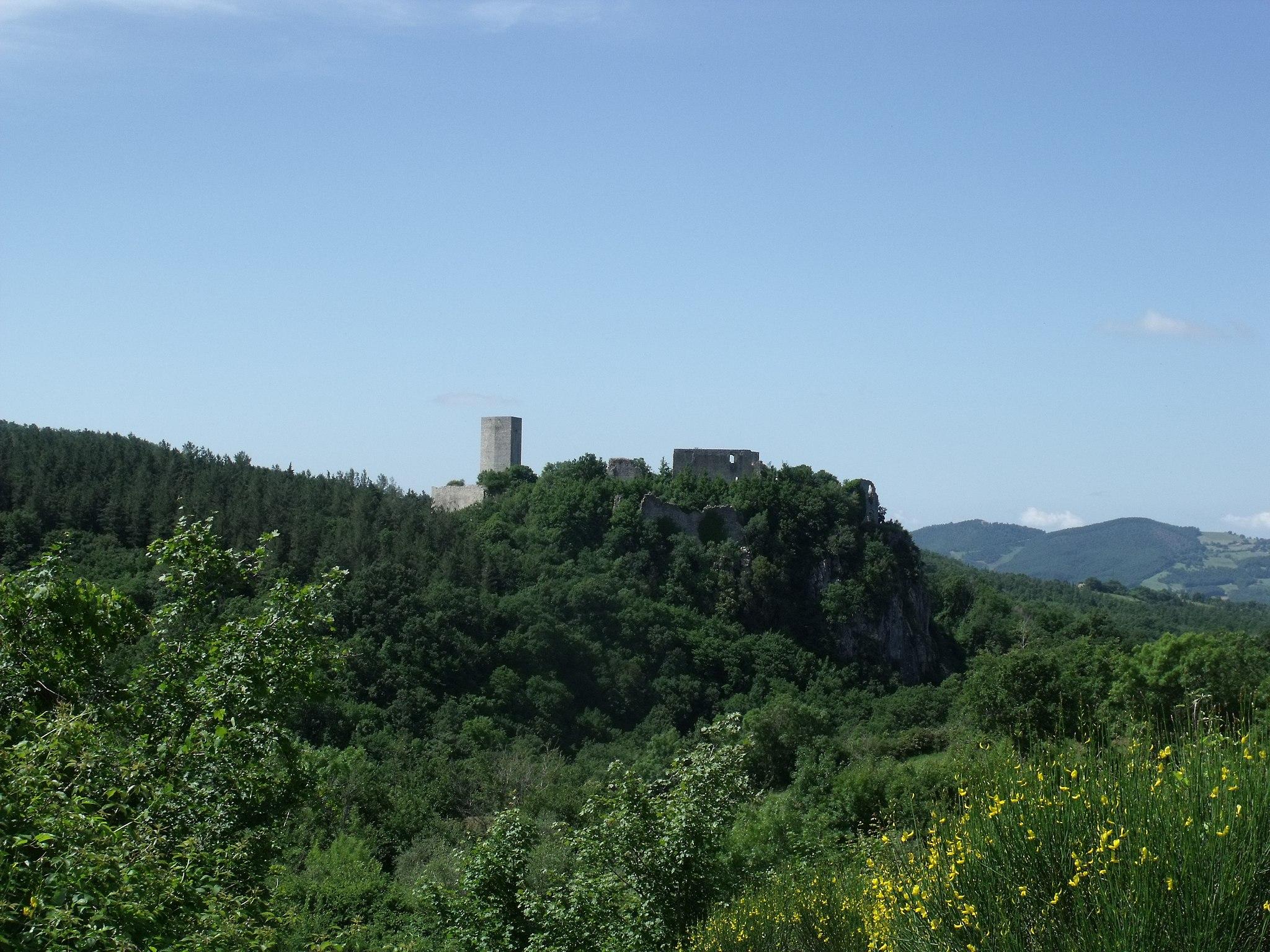 Rocca Silvana, Selvena, Castell'Azzara