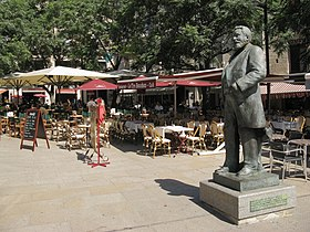 Image result for statue jean jaures montpellier