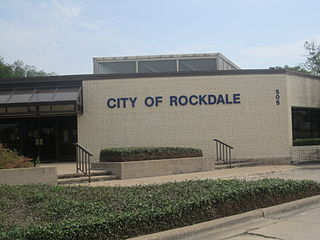 Rockdale, Texas City in Texas, United States