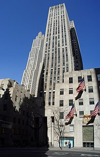 International Building (Rockefeller Center) skyscraper in New York City