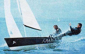 Rodney Pattisson - Pattisson and Davies at the 1972 Olympics