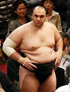 Rohō Yukio Russian sumo wrestler