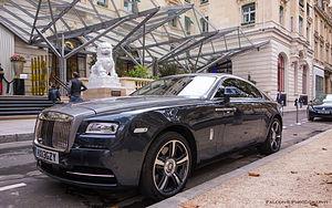 The Peninsula Paris - Image: Rolls Royce Wraith, The Peninsula Paris, 2014