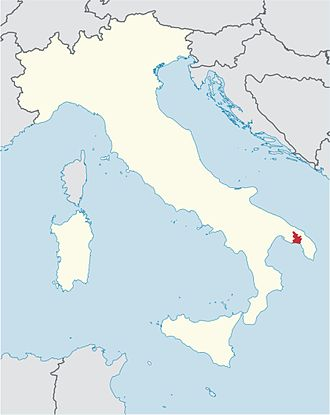 Roman Catholic Diocese of Oria - Image: Roman Catholic Diocese of Oria in Italy