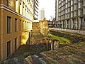 Roman Wall, Noble Street, London EC1 - geograph.org.uk - 1087407.jpg
