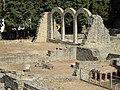 Roman bath at Fiesole, Italy - Caldarium and Frigidarium; 2011.jpg