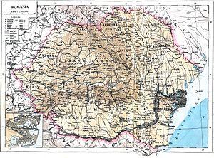 Localizare a Regatului României