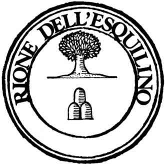 Esquilino (rione of Rome) - Logo of the rione