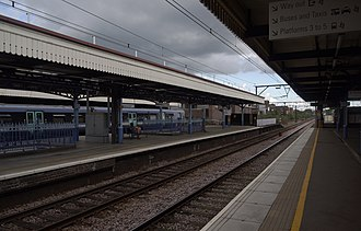 Romford railway station - Romford railway station in 2010