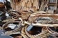 Ropemaking display at Roskilde Viking Ship Museum (5) (36231211552).jpg