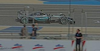 2015 Bahrain Grand Prix - Nico Rosberg finished third for Mercedes.