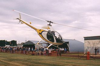 Aircraft noise - Helicopter main and tail rotors produce aerodynamic noise.