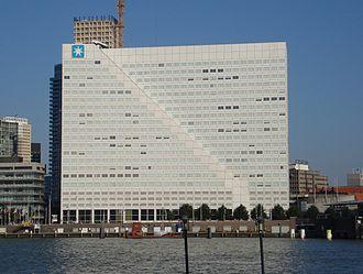 P&O Nedlloyd - Image: Rotterdam nedloyd gebouw