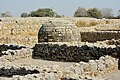 Round Stupa of Sirkap located in Taxila.jpg