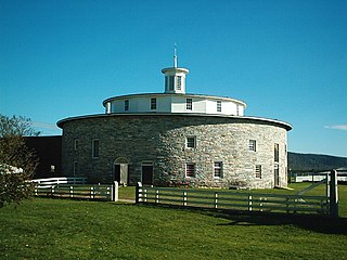 Round barn circular storage building