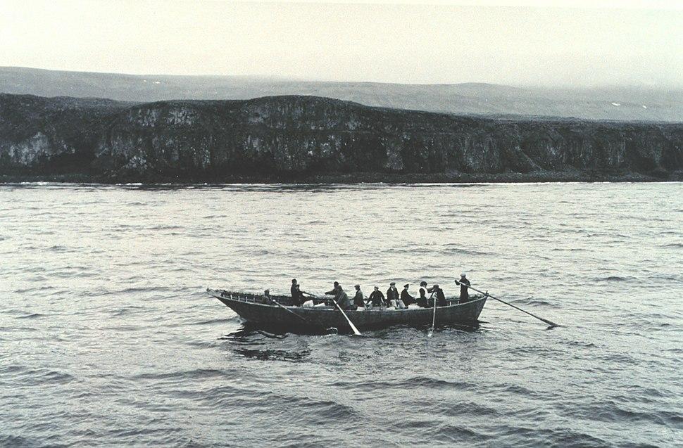Rowing Baidara St George Is line1700