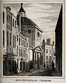 Royal College of Physicians, London. Engraving. Wellcome V0013093.jpg