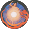 Rudolf Steiner's Apocalyptic Seal - 5 woman clothed with the sun.png
