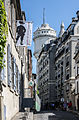 Rue Cortot and Montmartre Museum, Paris 9 September 2013.jpg