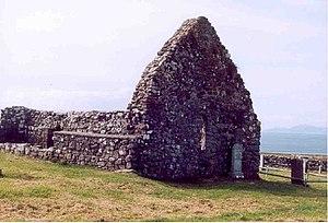 Trumpan - The ruins of Trumpan church