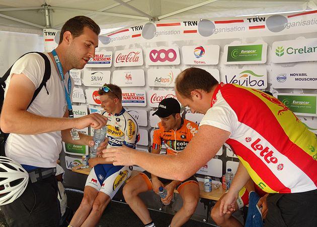 Rumillies (Tournai) - Tour de Wallonie, étape 1, 26 juillet 2014, arrivée (B38).JPG
