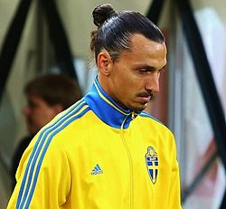 File photo of Zlatan Ibrahimović.  Image: Евгений Сойкин.