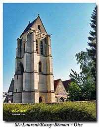 Russy Bémont (60117 Oise) église St.-Laurent.jpg