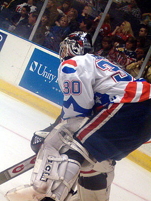 Ryan Miller - Miller with the Rochester Americans in 2005