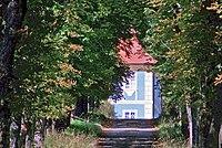 Sýkořice, Dřevíč, od brány.jpg