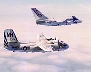 S-2G and S-3A in flight 1976