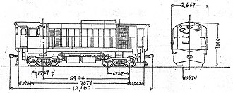 EMD GA8 - Image: S300排列圖
