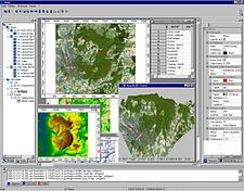 L'interface de SAGA GIS