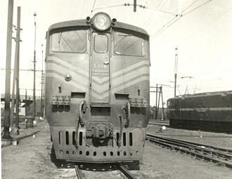 South African Class 5E1, Series 1 - Image: SAR Class 5E1 Series 1 E445