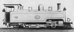 South African Class NG4 4-6-2T - Image: SAR Class NG4 10 (4 6 2T)
