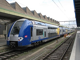 TER Lorraine - SNCF Class Z 24500 operated on TER Lorraine network at Luxembourg railway station