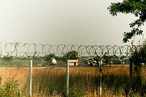 SPAF Mi17 helicopters at Juba Airport January 2011.jpg