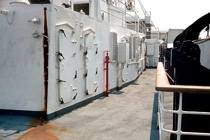 SS Stevens boat deck starboard generator house 01.jpg