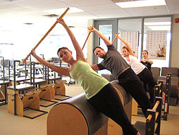 Stott Pilates Instructor Training at Toronto Corporate Training Center.
