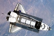 STS-112 Atlantis carrying S1 truss.jpg