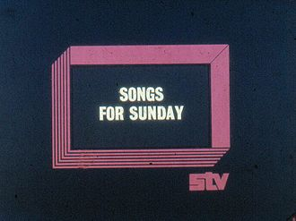 Scottish Television - STV programme caption
