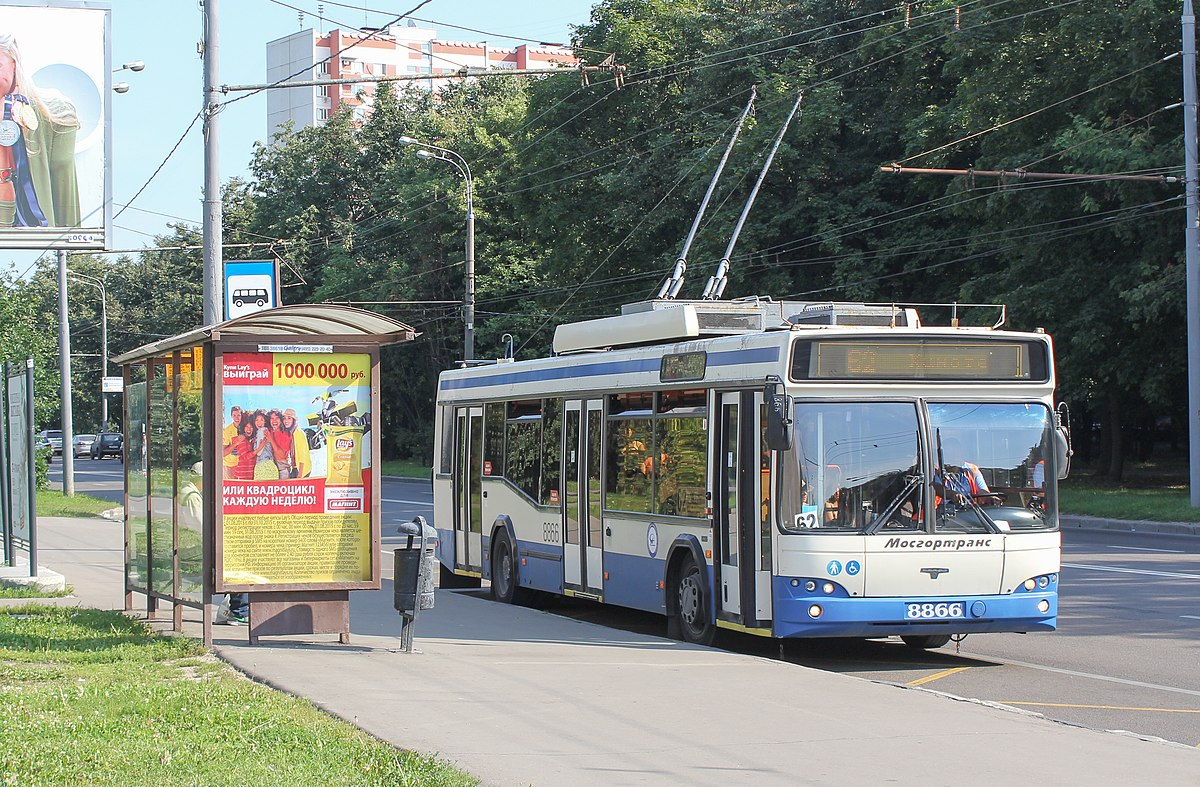 схема прроезда троллейбусе 203 химки